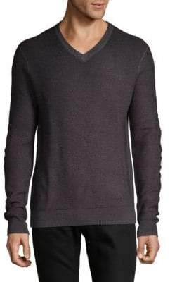 Saks Fifth Avenue V-Neck Merino Wool Sweater