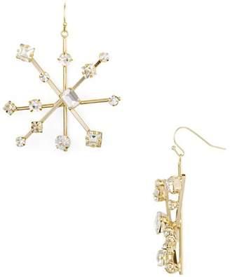 RJ Graziano Starburst Drop Earrings