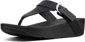 FitFlop Edit Leather Adjustable Toe-Thongs