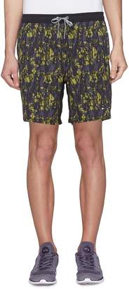 The Upside 'Ikat Ultra Trainer' camouflage print track shorts