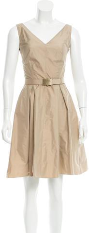 pradaPrada Sleeveless Knee-Length Dress