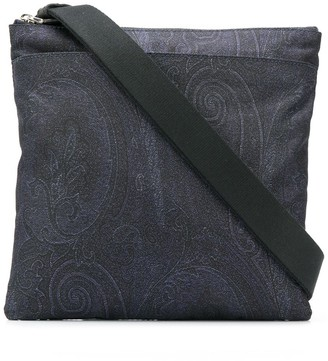 Etro paisley embroidered bag