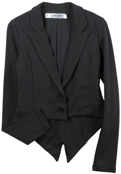 Something Knit Jersey Tux Jacket