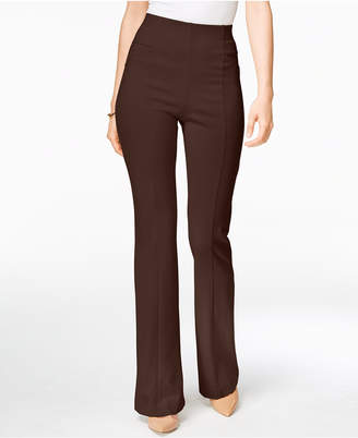 INC International Concepts I.n.c. High-Waist Curvy-Fit Bootcut Pants, Created for Macy's