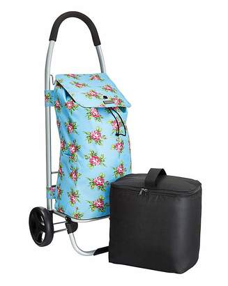 Calvin Klein Floral Foldable Shopping Trolley