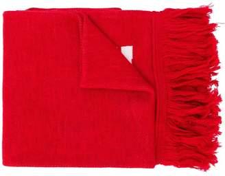 Off-White logo print scarf