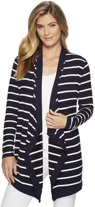 ... Lauren Ralph Lauren Striped Open-Front Cardigan Women\u0027s Sweater