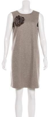 Brunello Cucinelli Wool Mini Dress