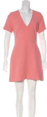 Alexis Crepe A-Line Dress