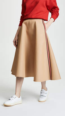 GOEN.J Flared Midi Skirt