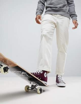 Asos Skater Chinos In Beige