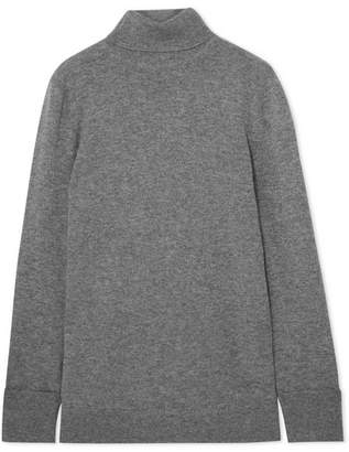 Equipment Ully Cashmere Turtleneck Sweater - Gray
