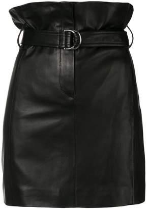 IRO belted high waist skirt
