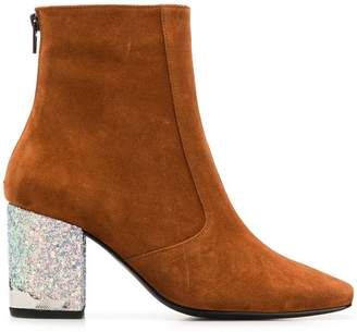 Toga Pulla two-tone ankle boots