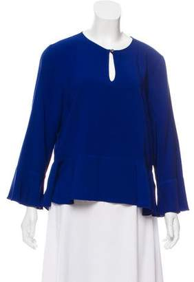 Nicole Miller Casual Bell Sleeve Blouse