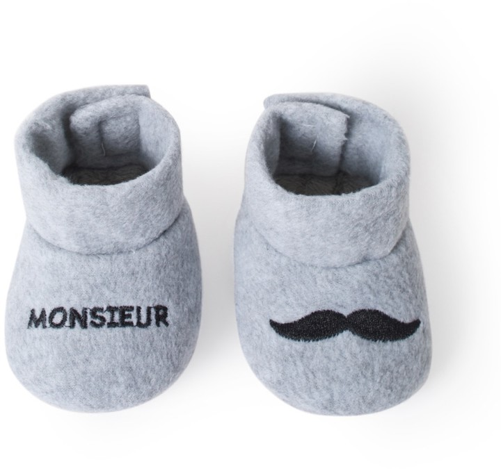 La Redoute Collections Fancy Cotton Slippers 0/6 Month - 6/12 Month