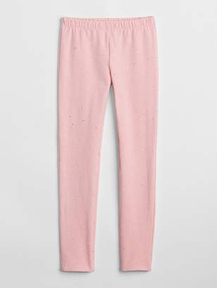 Gap Sparkle Leggings in Soft Terry
