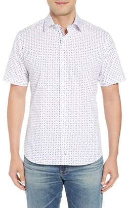 Tailorbyrd Banning Regular Fit Dot Sport Shirt