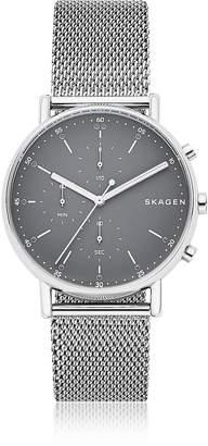 Skagen Signatur Steel Mesh Men's Chronograph Watch