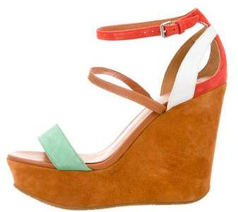 Marc by Marc Jacobs Multistrap Platform Wedges