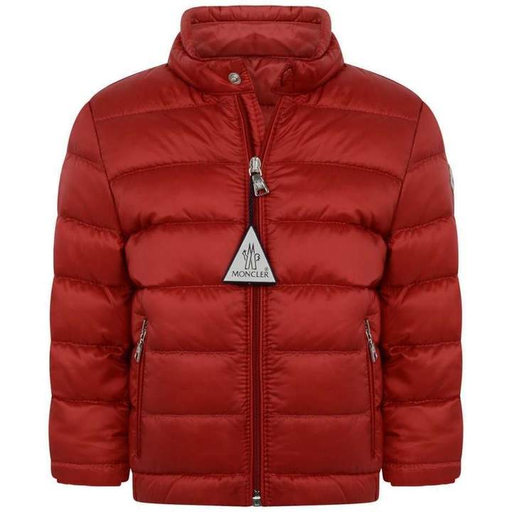 MonclerBaby Boys Red Down Padded Acorus Jacket