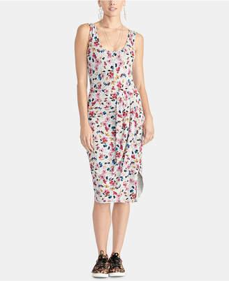 Rachel Roy Gabi Floral-Print Draped Bodycon Dress