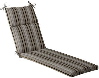 Pillow Perfect Striped Indoor/Outdoor Chaise Lounge Cushion