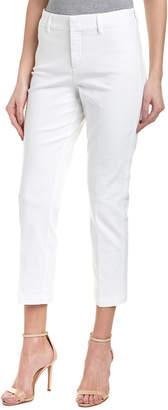 NYDJ Petite Optic White Ankle Trouser