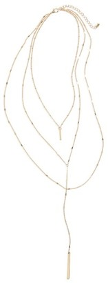 Women's Bp. Layered Bar Necklace $14 thestylecure.com