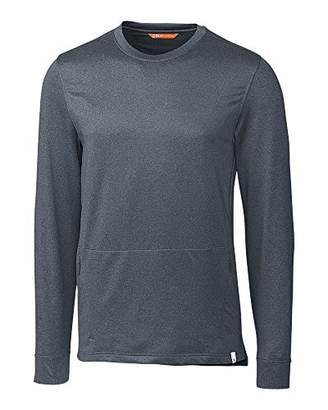 CBUK Men's Moisture Wicking Jackson Crewneck Long Sleeve Pocket Shirt