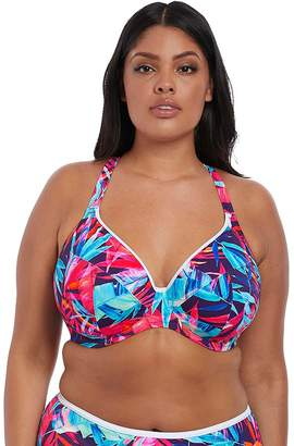 29ab55227351d Elomi Paradise Palm Underwired Plunge Bikini Top