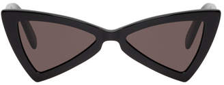 Saint Laurent Black SL 207 Jerry Bow Tie Sunglasses