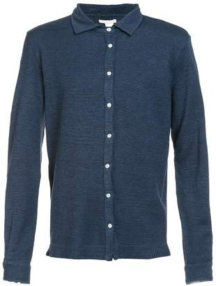 Massimo Alba houndstooth pattern shirt a
