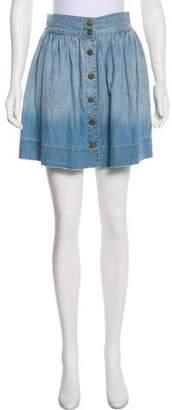 Current/Elliott Lolipop Chambray Skirt