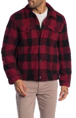 Levi's Faux Shearling Trucker Jacket