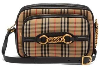 e47dc57c8df3 Burberry 1983 Check Canvas Cross Body Bag - Womens - Black Multi
