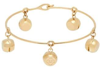 Aurelie Bidermann Fine Jewellery Fine Jewellery - Telemaque 18k Gold Charm Bracelet - Womens - Gold