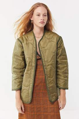 Urban Renewal Vintage Lightweight Quilted Liner Jacket