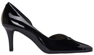 Mikado Black Patent Heeled Shoe
