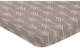 JoJo Designs Sweet Outdoor Adventure Arrow Print Fitted Mini Crib Sheet