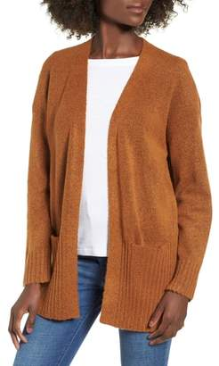 DREAMERS BY DEBUT Rib Edged Open Cardigan