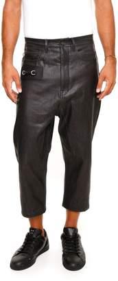 Rick Owens Coated Denim Trousers