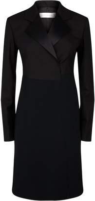 Victoria Beckham Wool Tuxedo Dress