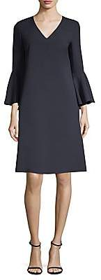 Lafayette 148 New York Women's Holly Bell-Sleeve Shift Dress