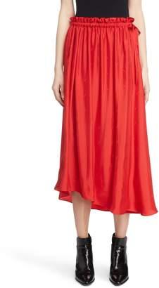 Kenzo Long Belted Skirt