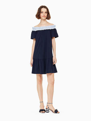 Kate Spade Off the shoulder knit dress