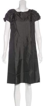 Marni Satin Shift Dress
