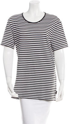 Burberry Brit Striped Short Sleeve T-Shirt $52 thestylecure.com