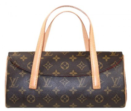 Louis Vuitton excellent (EX Monogram Sonatine Satchel Bag