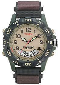 Timex Mens Resin Analog and Digital Watch